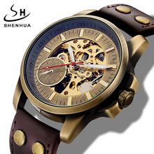 Automatic Self Winding Mens Watch Dropshipping Mens Mechanical Skeleton Watches New Arrival Sport Watches Luxury Brand Clock
