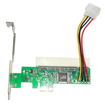 Karta adaptera X1 X4 X8 X16 strona główna profesjonalne biuro łatwa instalacja PCI-E na PCI na komputery stacjonarne na komputery stacjonarne praktyczna ekspansja tanie i dobre opinie Woopower CN (pochodzenie) PCI-E to PCI Adapter Card Pci express