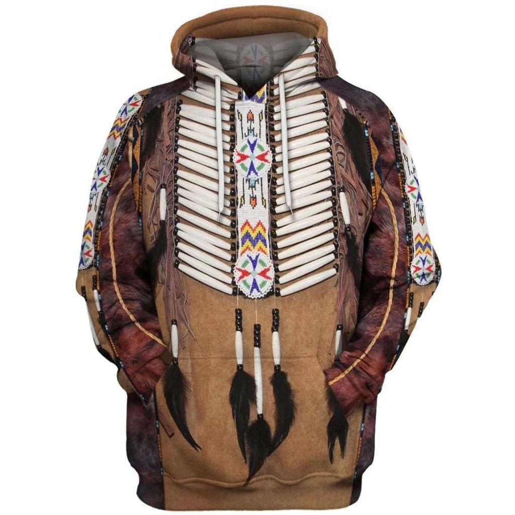 Native Indian 3D Hoodies/sweatshirts Tee Men Women New Fashion Hooded Winter Autumn Long Sleeve Streetwear Pullover Style