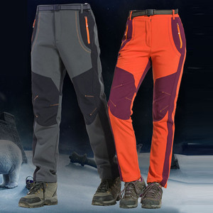 Mens Quick Dry Hiking Pants Men Outdoor Sports Breathable Trekking Trousers Waterproof Windproof Thick Pants pantalones hombre