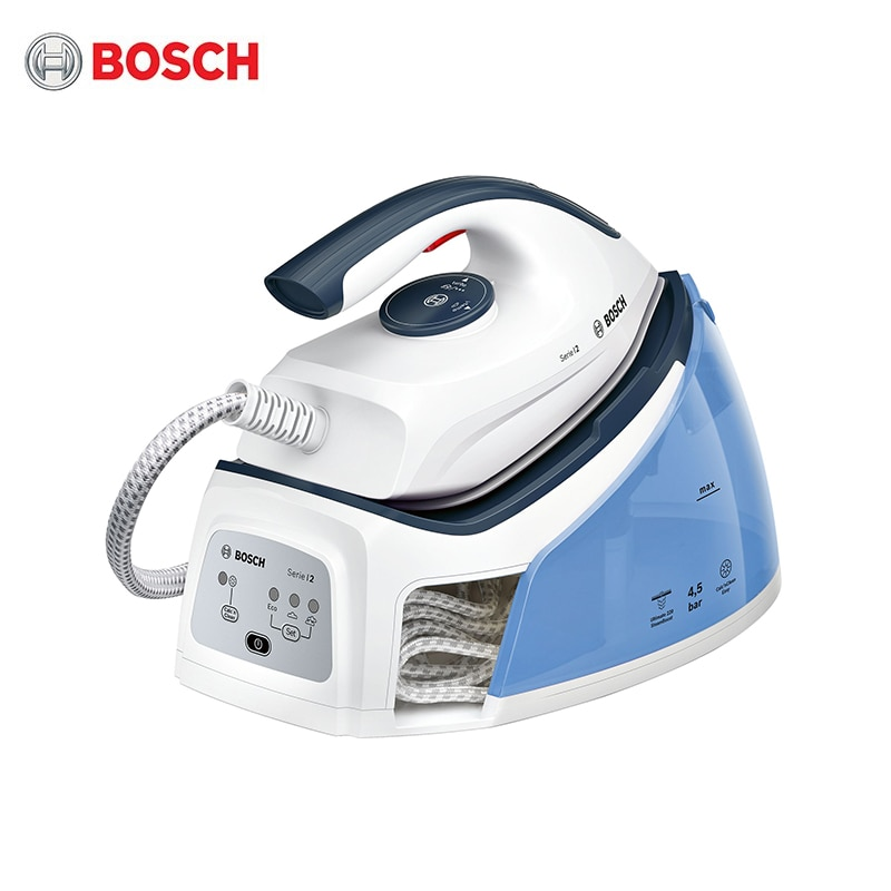 Steam Station Bosch TDS2140 steam generator iron for ironing garment laundry household appliances home steamer for clothes steam station russell hobbs 24420 56 handheld steamer for clothes steam generator for home steam cleaner home appliances steamer vertical