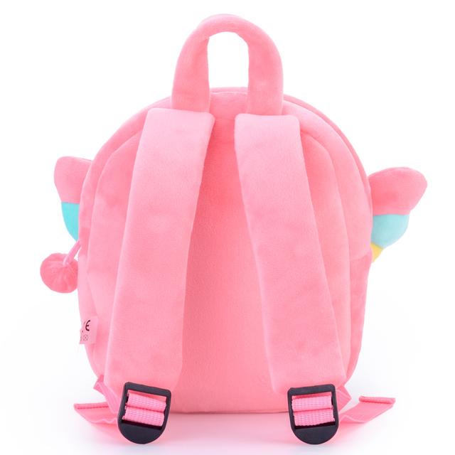 Plush Mochilas De Unicornio Cute Cartoon Soft Unicorn School Bags for Kids Doll Bags