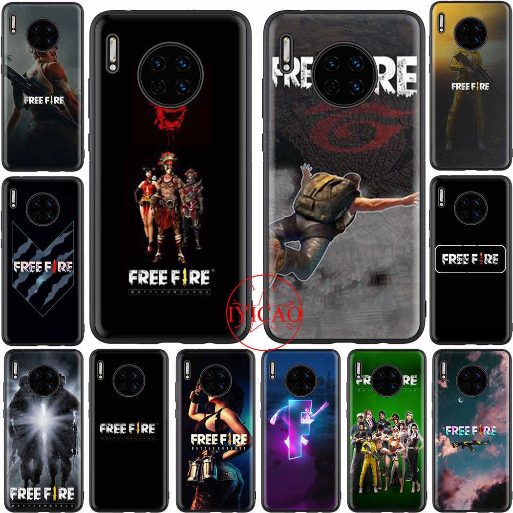 free fire Soft phone Case Cover for Huawei P8 P9 Lite Mini P10 P20 ...