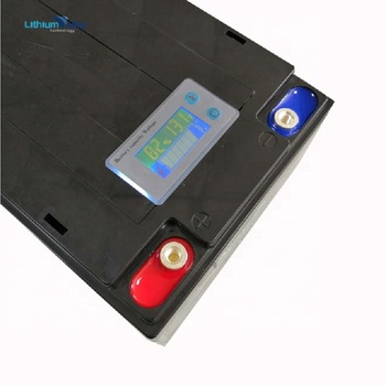 12V 50AH LiFePO4 Battery pack for Solar ESS Electric Boat Yatch with Led display BMS Built In