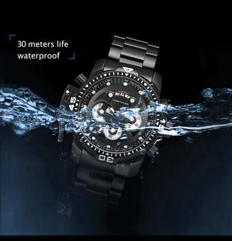 Top Brand Luxury Fashion Men Watches Quartz Watch Men Business Military Chronograph Wristwatch Relogio Masculino erkek kol saati 5