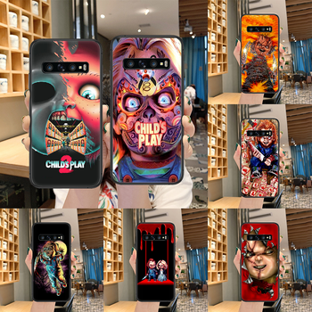 Child's Play cult of chucky Phone case For Samsung Galaxy Note S 8 9 10 20 Plus E Lite Uitra black cover painting prime luxury image
