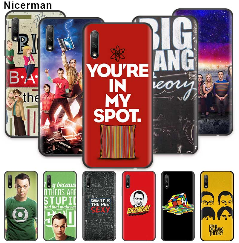 The <font><b>Big</b></font> <font><b>Bang</b></font> Theory <font><b>Case</b></font> for Huawei Honor 20 Pro 20e 20S 30 30S 10 9X Lite 9A 9C 9S 8A Silicone <font><b>Phone</b></font> Cover image