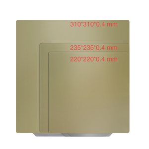 Удаление пружины стальной лист пей магнитное основание горячие наклейки для кровати сборка пластины 310/235/220 мм пей лист 3D принтер части PLA ABS ...