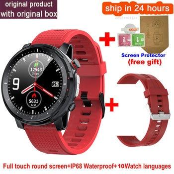 L15 Smart Watch Men 1.3inch Full-fit Round Retina Display Music Control Camera Flashlight PK L5 L9 Smartwatch IP68 Waterproof 9