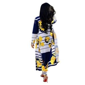 Image 3 - 秋のパンツ + コート 2 個セット女性服 4XLプラスサイズropa mujer vetementファムスーツロング女性トラックスーツ原宿