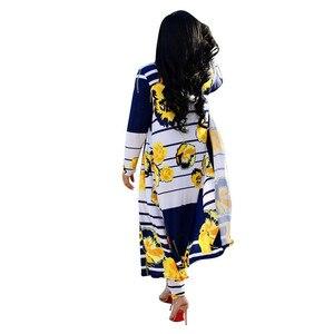 Image 3 - الخريف السراويل معطف 2 قطعة مجموعة ملابس النساء 4XL حجم كبير Ropa Mujer Vetement فام دعوى طويلة سترة المرأة رياضية Harajuku