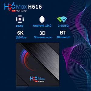 6K HD H96 Max Quad Core H616 S