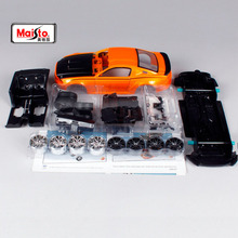 Car-Toy Assembly Ford Mustang Diecast-Model Racer Maisto New GT 1:24 Box Street DIY in