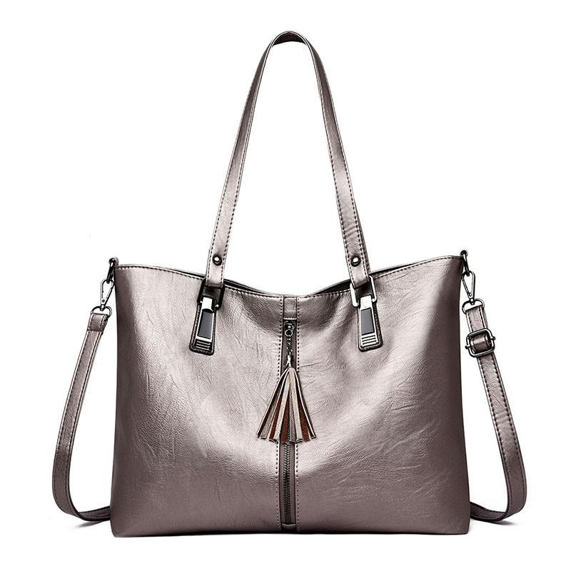 Bolso mujer grande PU Leather Handbag  Bag Large Size Women Shoulder Bag