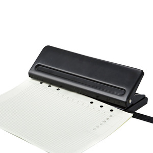 Image 5 - 6 Hole Adjustable Puncher Loose Leaf Standard Paper Adjustable Office Binding Supplies Tool Suitable for A5 Paper