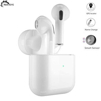 Bluetooth 5 0 prawdziwe bezprzewodowe słuchawki sportowe wodoodporne słuchawki douszne Mini Pro 4 TWS Touch Control słuchawki głośnomówiące do smartfona tanie i dobre opinie HUAYEYC Zaczepiane na uchu NONE Dynamiczny CN (pochodzenie) Prawdziwie bezprzewodowe 120dB Do kafejki internetowej Słuchawki do monitora