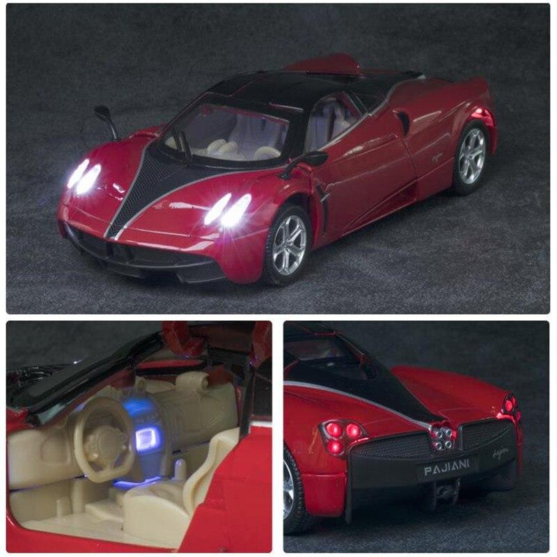 1 32 Toy Car Pagani HUA YRA Metal Toy Alloy Car Diecasts Toy Vehicles Car Model
