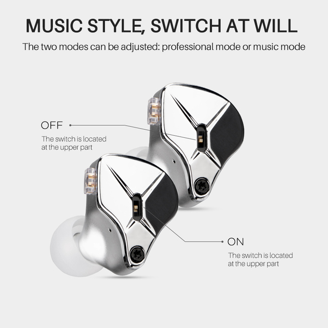 TFZ KING EDITION in Ear Earphones Monitors Earphones Hifi  Metal Noise Cancelling Earbuds Detachable Detach 2PIN Cable 5