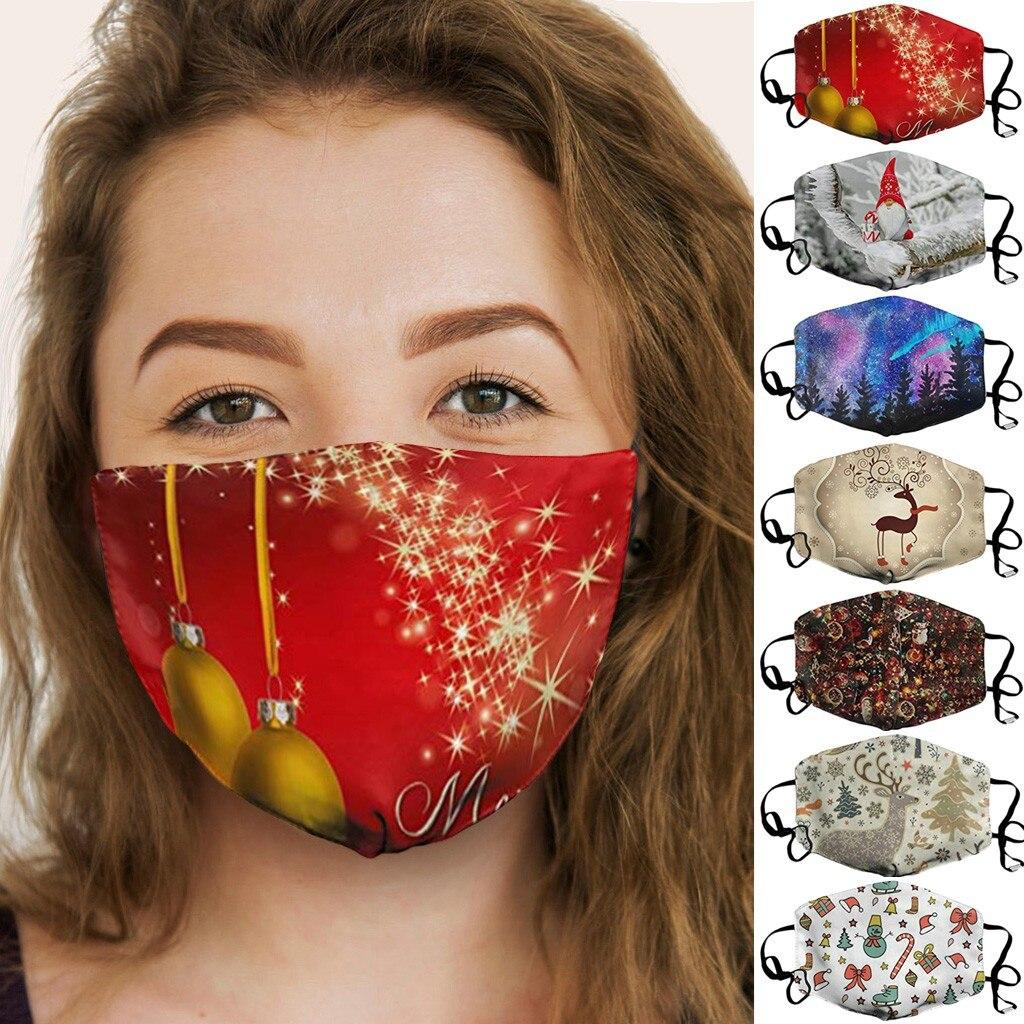 Новинка, Рождественская Спортивная маска для лица для спорта на открытом воздухе, для велоспорта, многоразовая дышащая многоцелевая маска для лица, полулицевая маска, фильтры|Маска для велоспорта|   | АлиЭкспресс