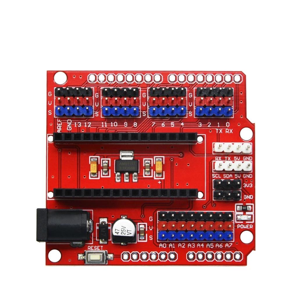Arduino Nano V3.0 ATMEGA328P Shield I//O Extension Board Expansion Module V/_WK