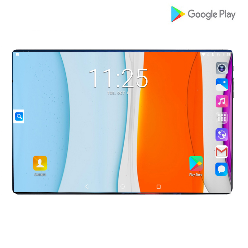 2020 New Design 10.1 Inch Tablet PC Octa Core 6GB RAM 128GB ROM 1280*800 IPS 6000mAh Android 9.0 Dual Sim 4G LTE Tablets 10.1