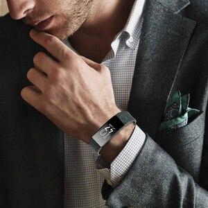 Image 4 - Fitbit inspire hr/inspire 용 실리콘 손목 밴드 fitbit inspire 용 스마트 시계 인쇄 무늬 교체 시계 밴드 스트랩