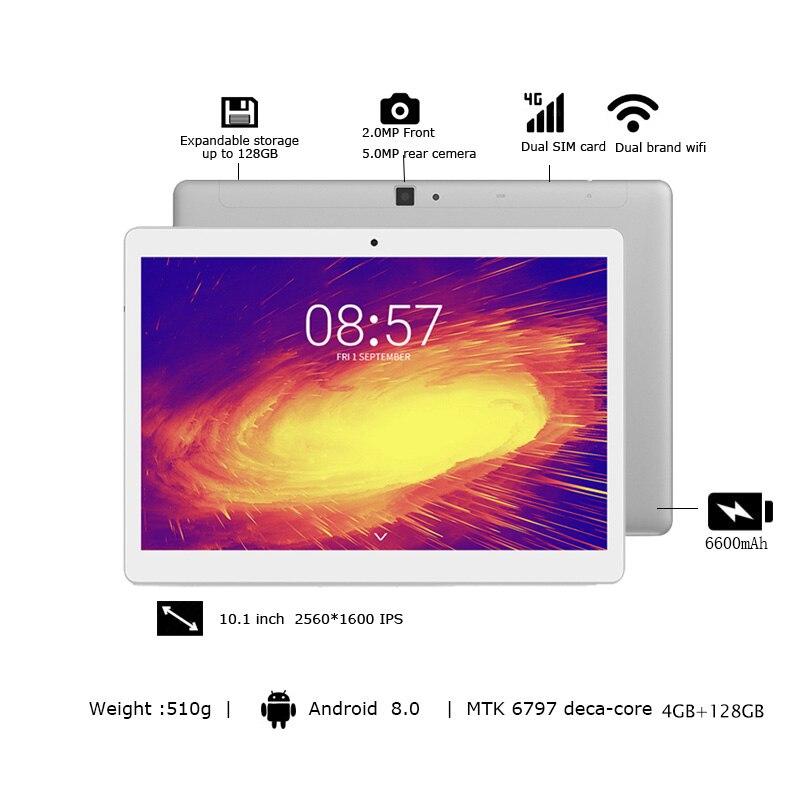Image 3 - Alldocube m5x pro 10.1 polegada tablet android 4 gb ram 128 gb rom mtk x27 4g lte 10 core telefone comprimidos pc 2560*1600 ipsTablets   -