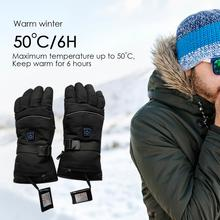 Skiing Snowboarding Usb Heated Ski Gloves Rechargeable Snowm