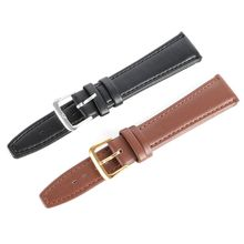 PU Leather Men Women Watch Strap Band Watchband  Compass Brand