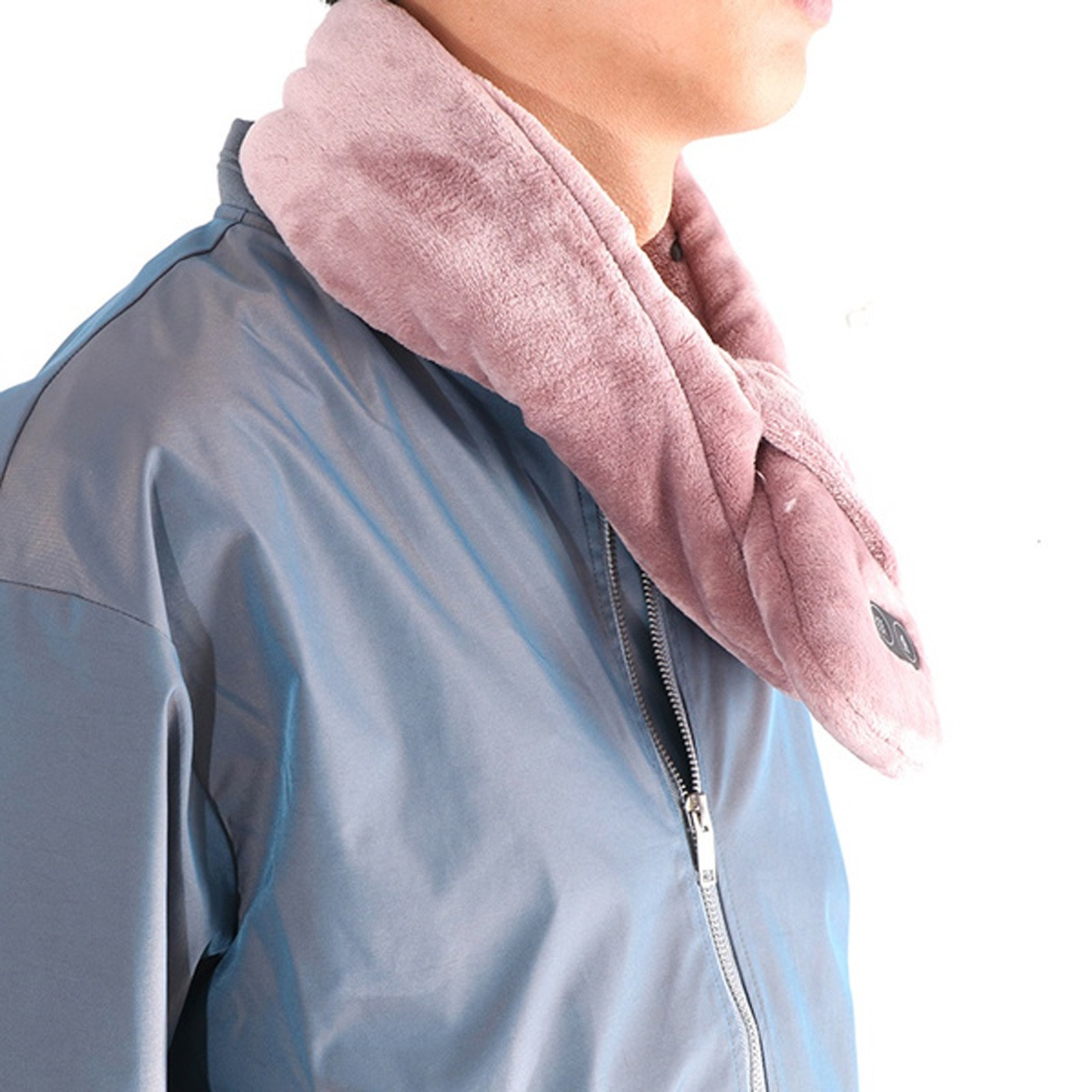 Heating warm neck protection scarf Female electric protective strength shoulder protection retro scarf Durable comfortable шарф