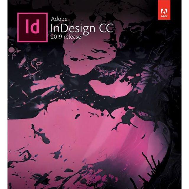 Logiciel InDesign CC 2019-créer des mises en page numériques et dimpression Win/Mac