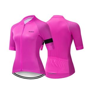 Image 5 - HuanGe 2020  Ciclismo  High Quality Women Summer Short Sleeve Cycling Clothing Cyc Clothes  cycling clothing  bike uniform