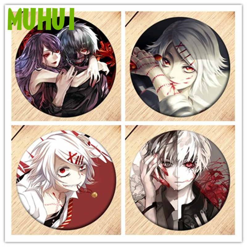 Free Shipping Anime Tokyo Ghoul Brooch Pin Badge Accessories For Clothes Backpack Decoration Children's Gift B037