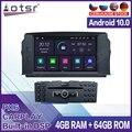 4 + 64 ГБ Android для Mercedes Benz C200 C180 W204 2007 2008 2019 2010 автомобильный мультимедийный плеер стерео аудио радио GPS навигация головное устройство