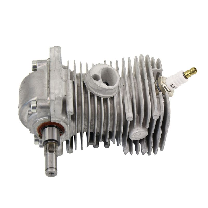 42.5mm Cylinder Assembly with Spark Plug Replacement Crankcase Connector for STIHL 023 025 MS230 MS250 Chainsaw|Spark Plugs & Glow Plugs|   - title=