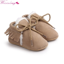 Winter Baby Shoes Moccasins Infant Soft Moccs Shoes