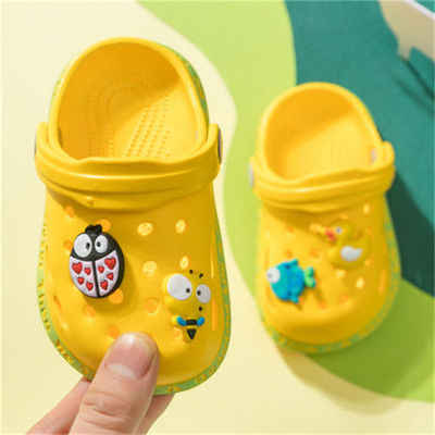 2020เด็กการ์ตูนถ้ำรองเท้า,ชายหญิงชายหาดฤดูร้อนเด็กรองเท้าแตะด้านล่างนุ่มAntiskid,เด็กห้องน้ำเย็นลากจูง