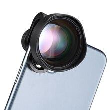 Ulanzi 75MM 10X Super Macro Lens Điện Thoại Máy Ảnh Ống Kính 17MM HD Ống Kính Điện Thoại Cho iPhone Piexl Huawei một Trong Những Plus Xiaomi