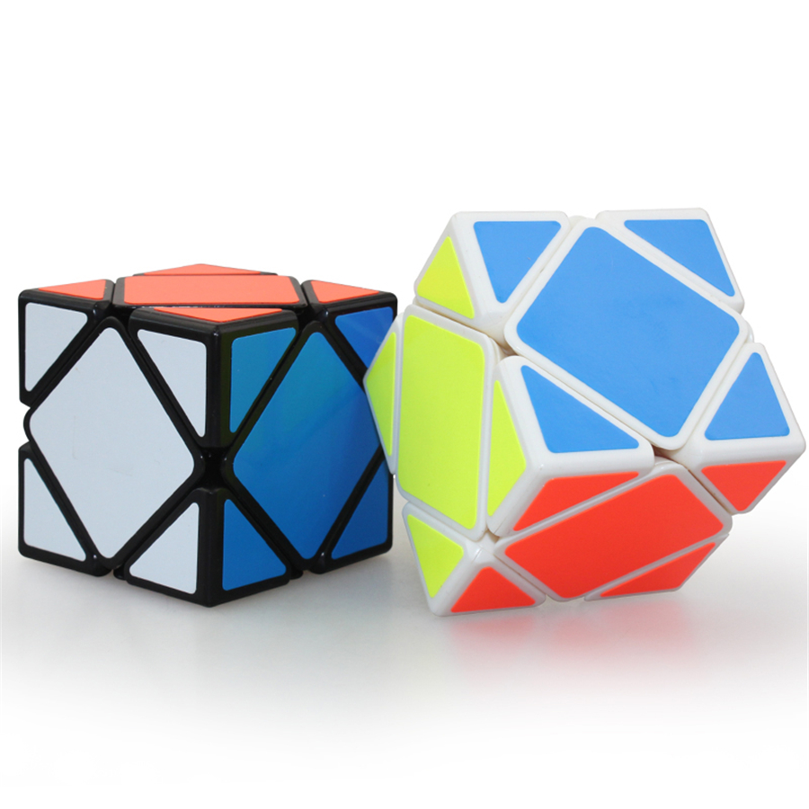 Magic Cubes Stress Reliever Cubos Magicos Puzzles Cubes Brinquedo Antistress Educativo Cube Kids Toys Funny DD60MF(China)