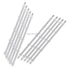 10 pz/set Striscia di Retroilluminazione A LED 5 e 5 Bar Lampade Per LG 42LN Pollici TV 42LN540V Whosale & Dropship