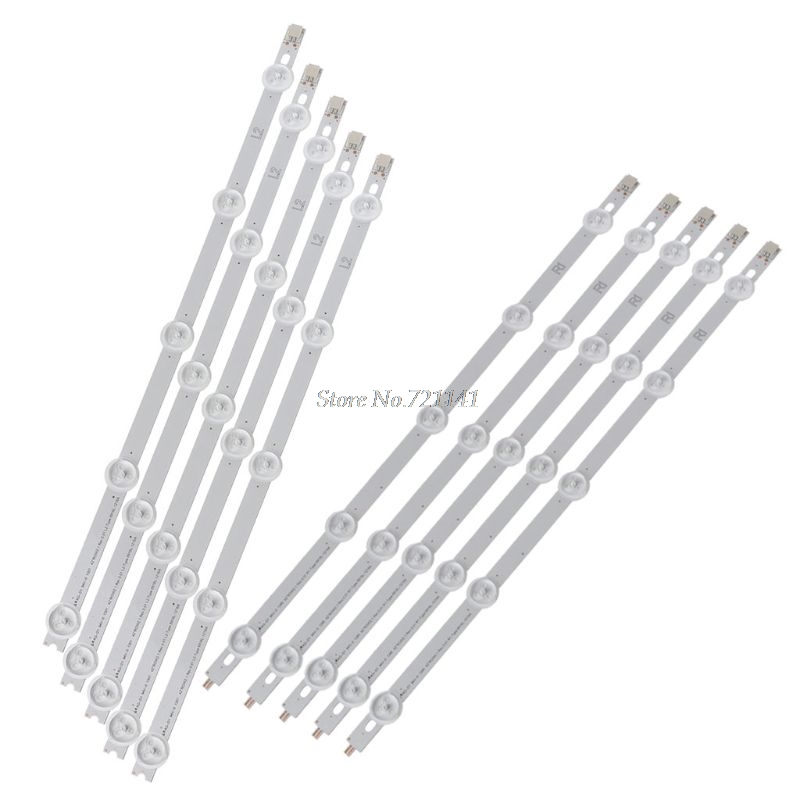 10pcs/set LED Backlight Strip 5 And 5 Lamps Bar For LG 42LN Inch TV 42LN540V Whosale&Dropship