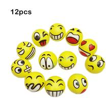 63MM 1PCS Funny Emoji Smiley Face Anti Stress Reliever Ball For Kids Autism Mood Toys Squeeze Relief Children Classic Balls