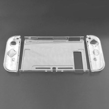 Clear Back Bag Protective Cover Case for Nintendo Switch NS NX Cases Cover for Nintend Switch Ultra Thin PC Transparent Bag ultra thin glow in the dark patterned protective pc back case cover for ipod touch 5 multicolored