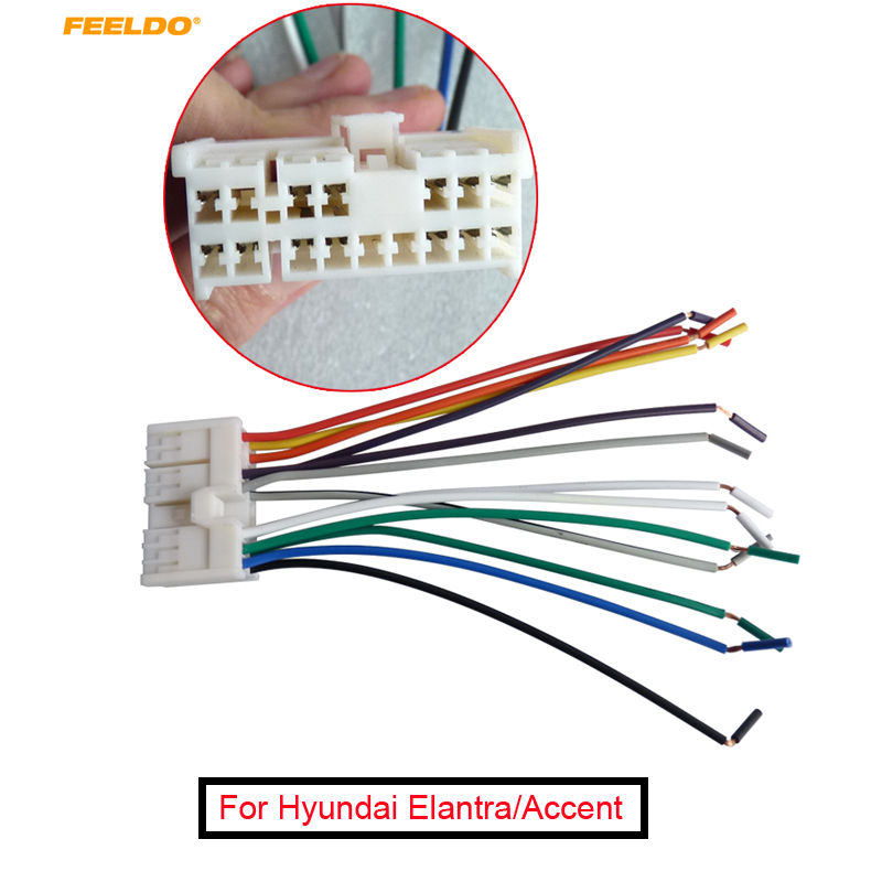car radio stereo wire wiring harness to factory best sale gj8ib feeldo 1pc car audio stereo wiring harness  feeldo 1pc car audio stereo wiring