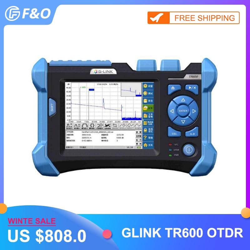 SM OTDR Optical Fiber OTDR Tester Sibglemode 32/30dB 1310nm/1550nm With Spanish Languages