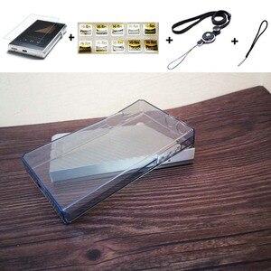 Image 2 - Yumuşak temizle kristal TPU deli kılıf kapak için Iriver Astell & Kern SP1000 ön ekran koruyucu temperli cam