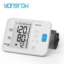 Yongrow Monitor Digital portátil para medir la presión arterial de brazo, herramienta de medición portátil LCD digital, tonómetro, esfigmomanómetro, 1 Uds.