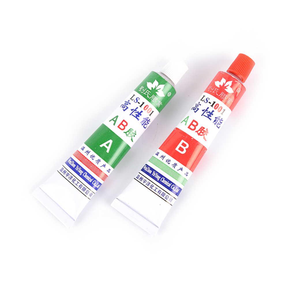 Adhesivo de acrilato modificado de dos componentes pegamento AB Super pegajoso para Metal plástico madera cristal joyas de vidrio