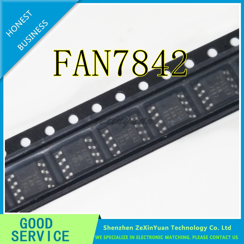 10PCS FAN7842 FAN 7842 SOP-8