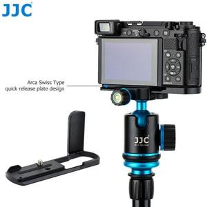 Image 2 - Quick Release Camera Hand Grip L Plate L Bracket for Panasonic Lumix GX9 GX85 GX80 GX7 Mark III II Replace DMW HGR2 Camera Grip